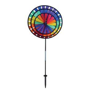 In the Breeze Best Selling Rainbow Triple Wheel Spinner