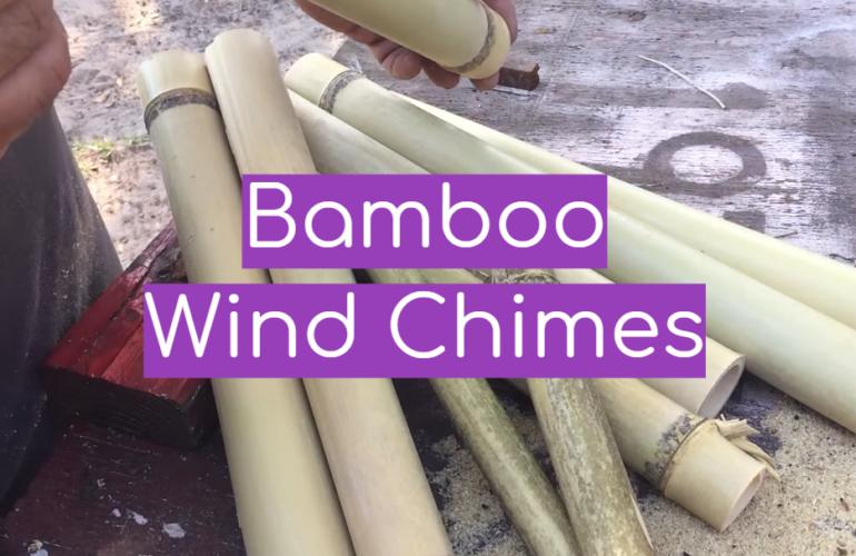 5 Bamboo Wind Chimes