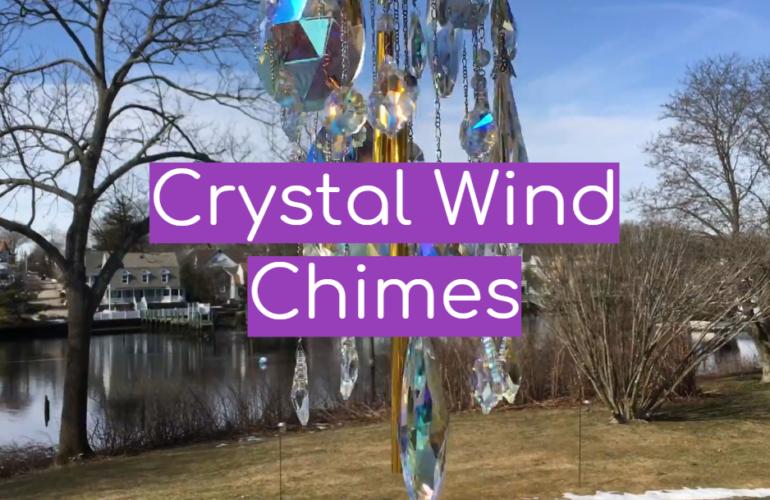 5 Crystal Wind Chimes