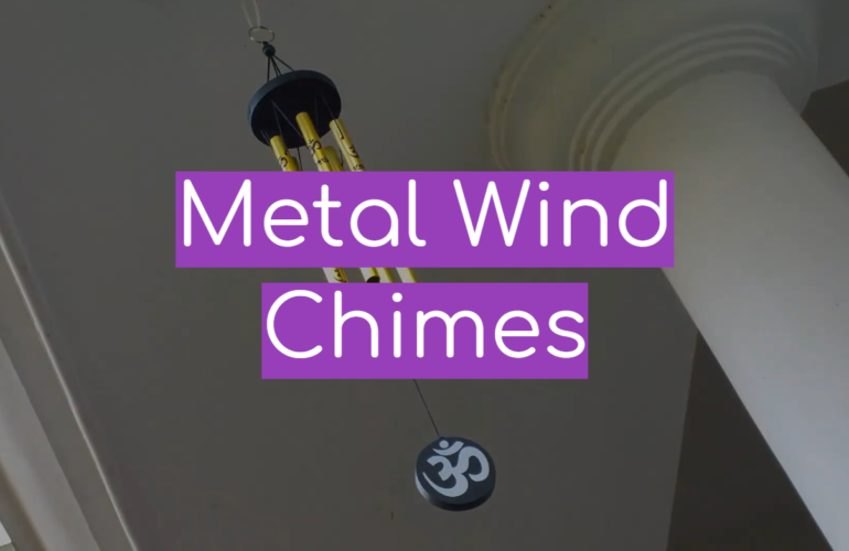 5 Metal Wind Chimes