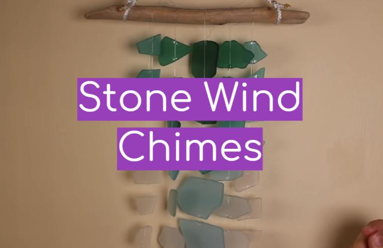 5 Stone Wind Chimes