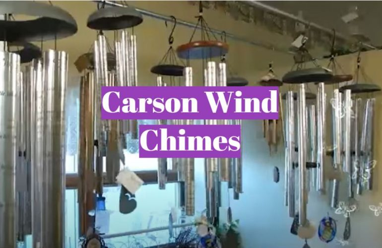 5 Carson Wind Chimes