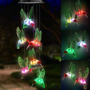 Topspeeder LED Solar Wind Chime Review